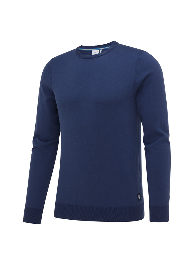 Blue Industry Pullover Blue
