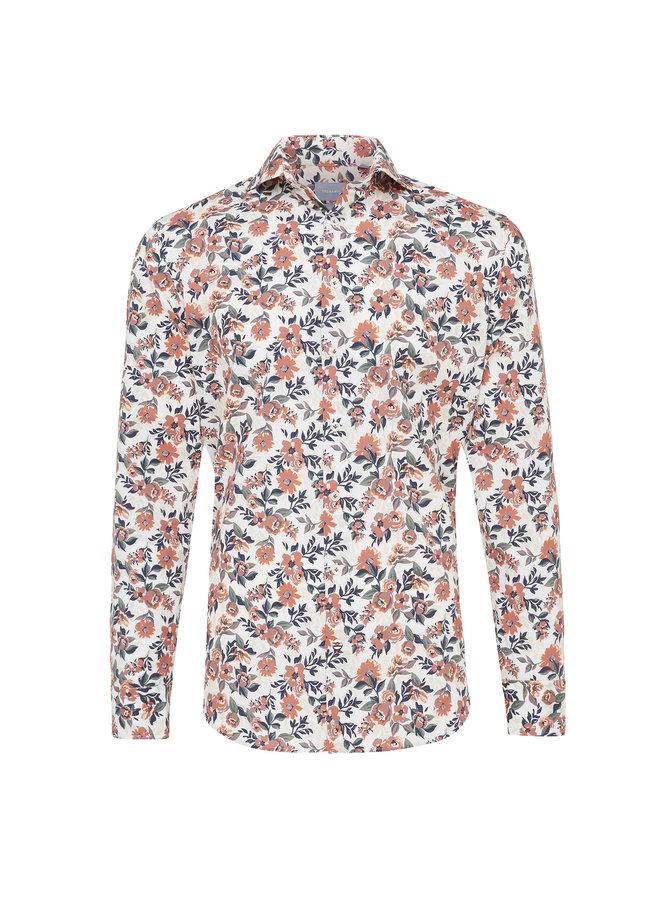 Tresanti Overhemd Bloemenprint Wit