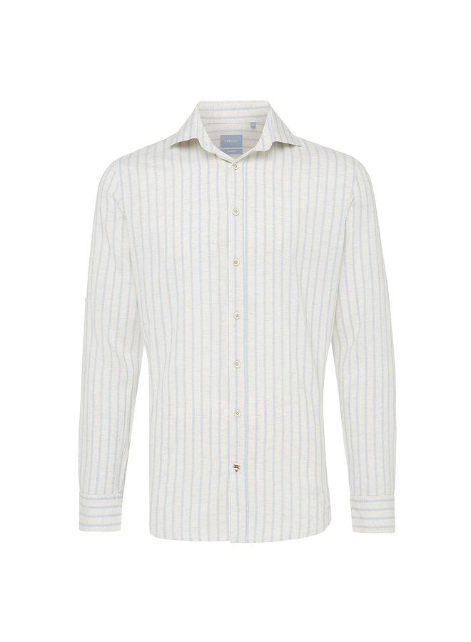 Tresanti Overhemd Stripe Sky Blue