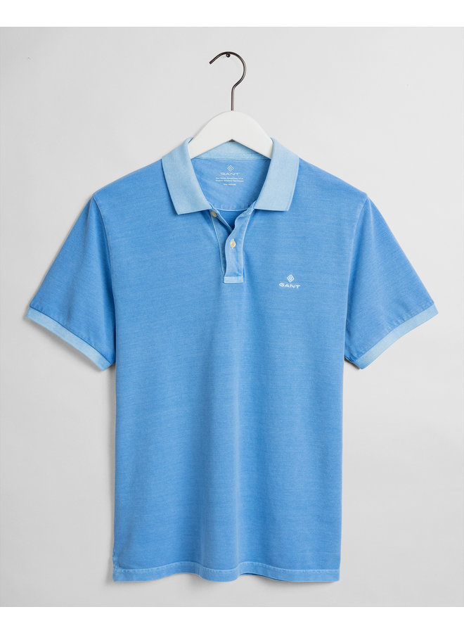 Gant Polo Sunfaded Pacific Blue