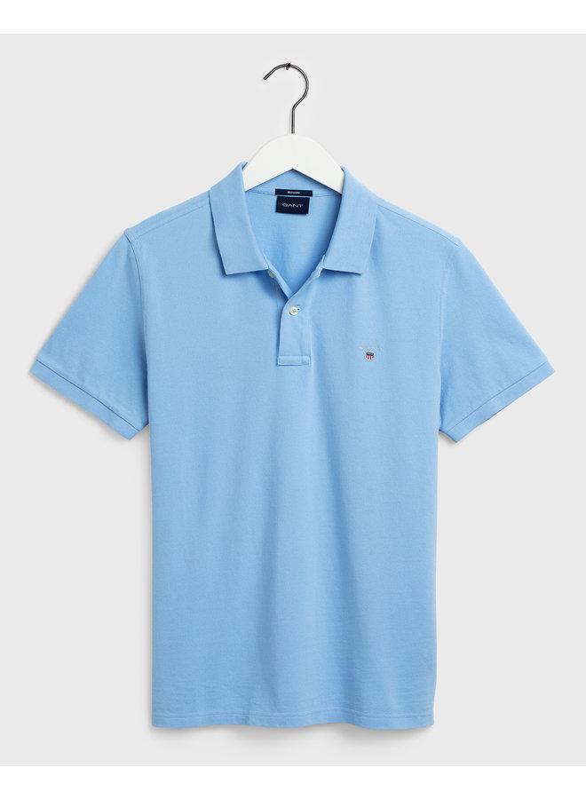 Gant Polo Pique Capri Blue