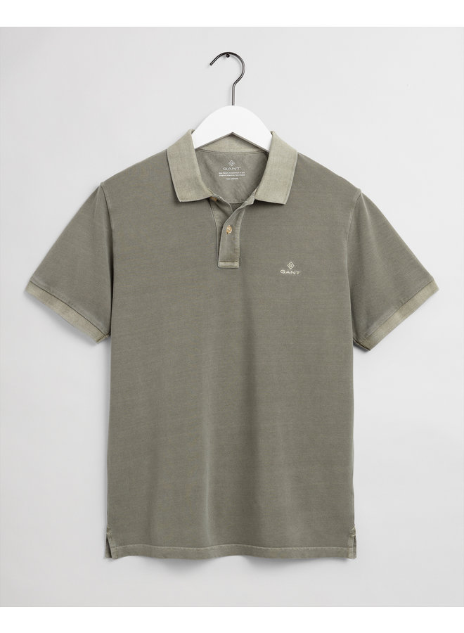 Gant Polo Sunfaded Pique Aloe Green