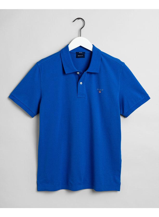 Gant Polo Pique Nautical Blue