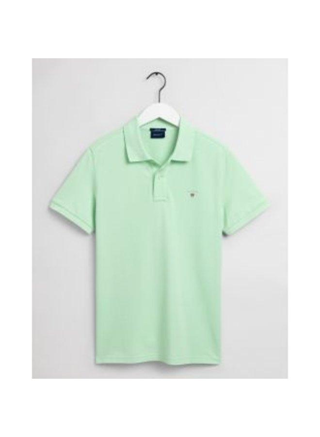 Gant Polo Pique Pastel Green