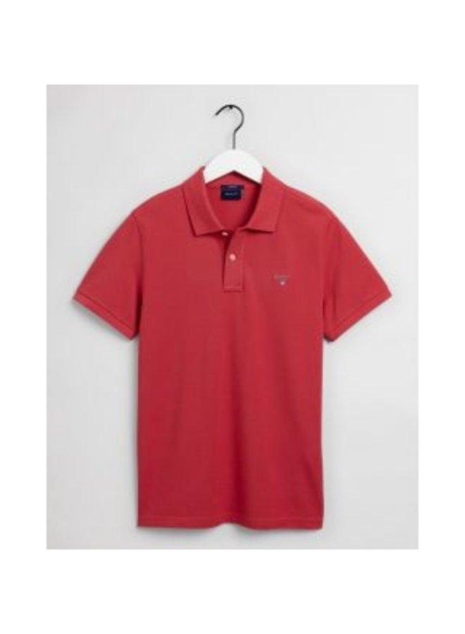 Gant Polo Pique Cardinal Red