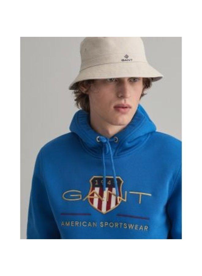 Gant Hoodie Archive Shield Nautical Blue