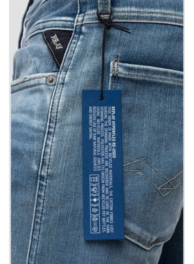 Replay Jeans Hyperflex Re-Used L.Blue
