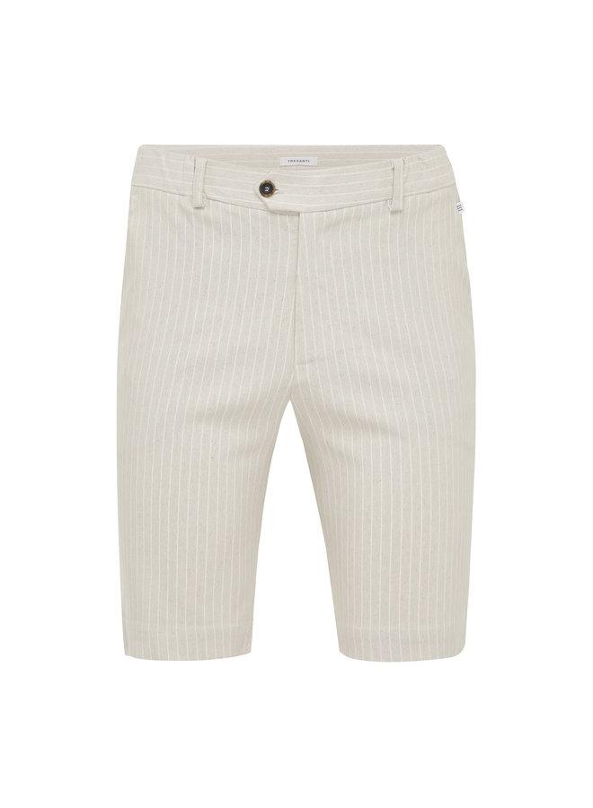 Tresanti Short Beige with White Stripe