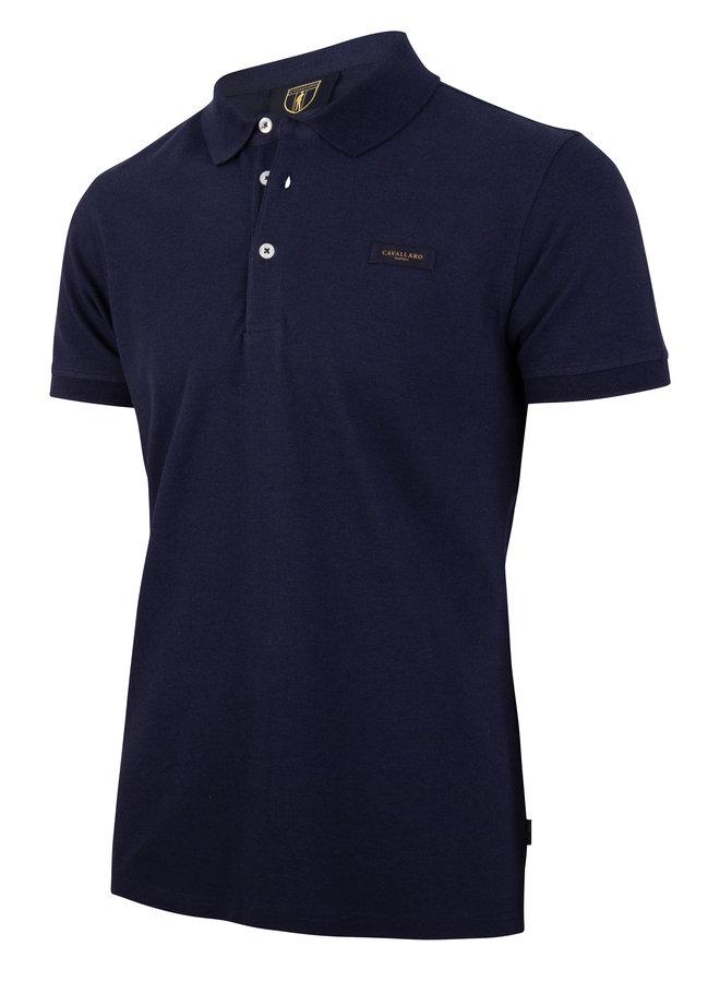 Cavallaro Polo Basic Dark Blue