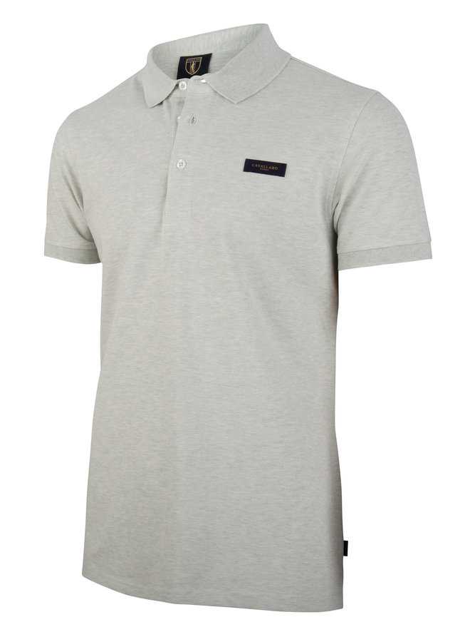 Cavallaro Polo Basic Light Grey