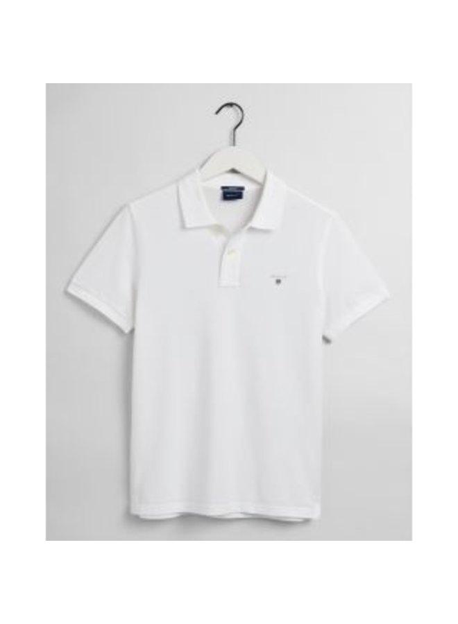 Gant Polo Pique White