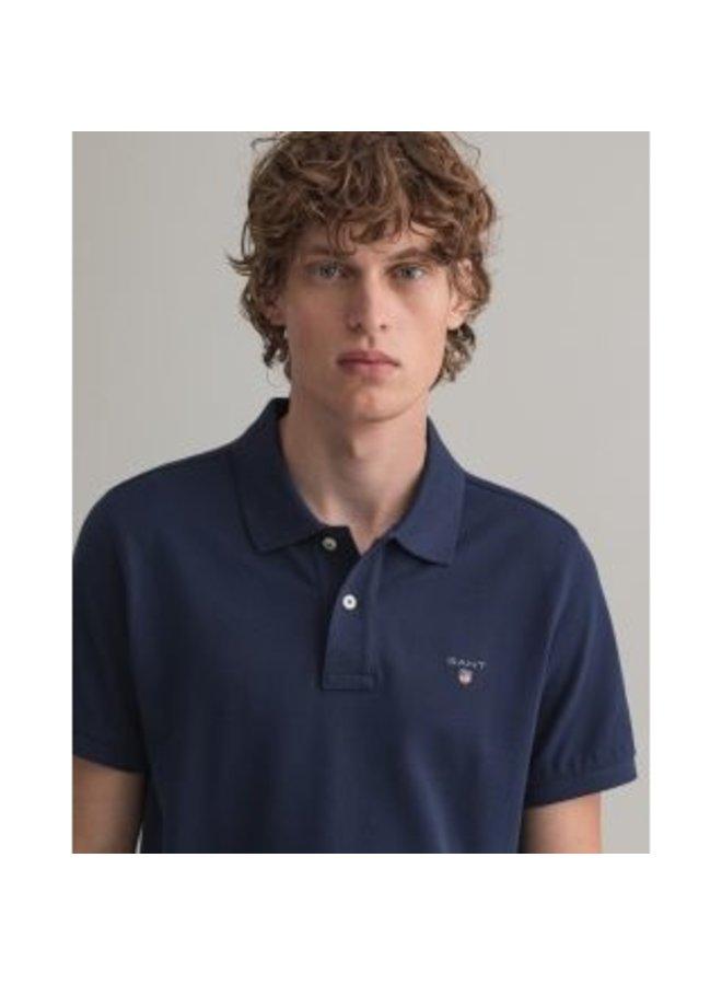 Gant Polo Pique Evening Blue