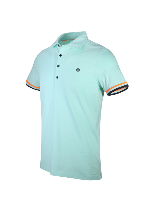 Blue Industry Polo Mint