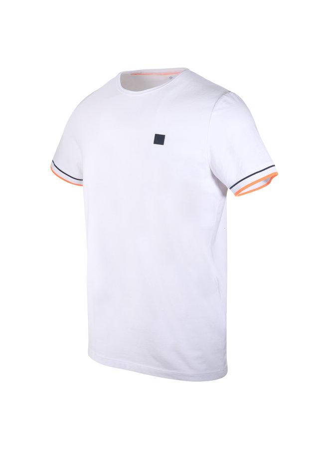 Blue Industry T-Shirt White