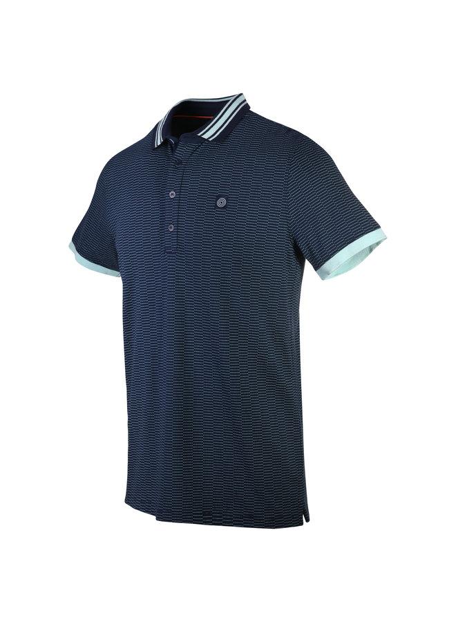 Blue Industry Polo Indigo/Mint