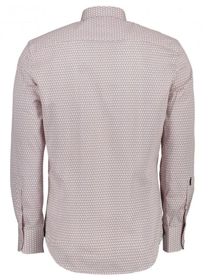 Cavallaro Overhemd Cateno Coral/White