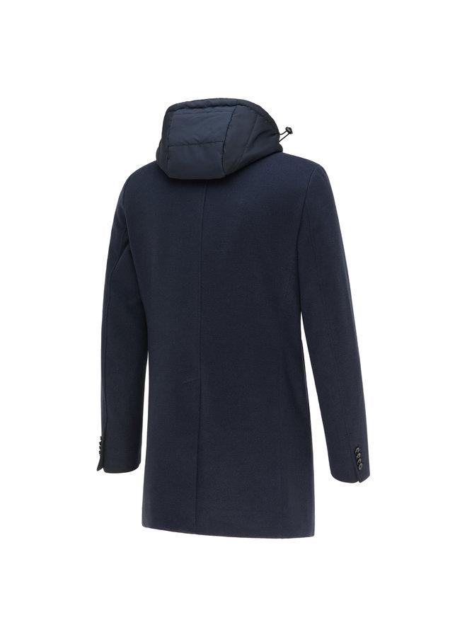 Blue Industry Coat Navy