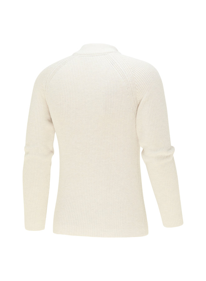 Blue Industry Pullover Zipp Off White