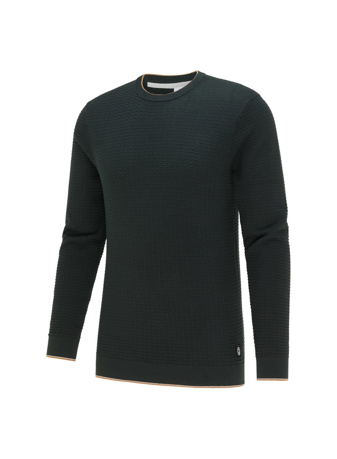 Blue Industry Pullover Structure Green