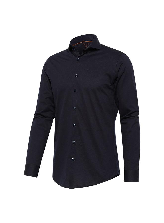 Blue Industry Overhemd Cool Comfort Jersey Navy