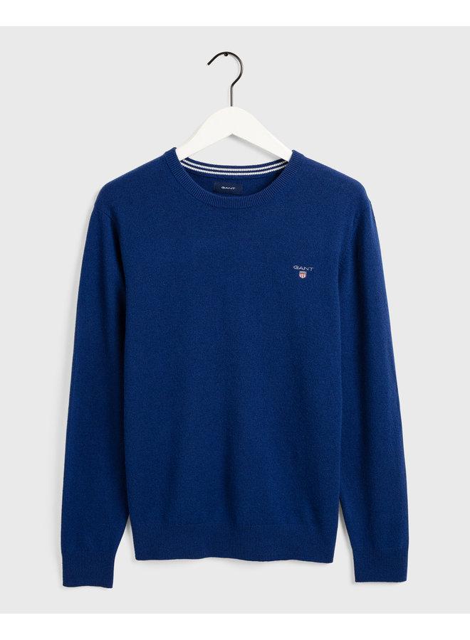 Gant Pullover Superfine Lambswool  College Blue