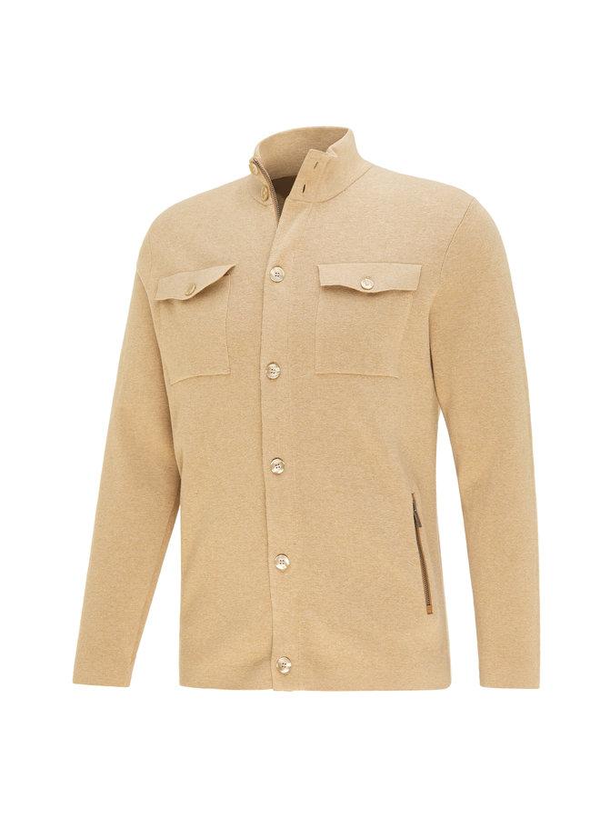 Blue Industry Cardigan/Pullover Camel