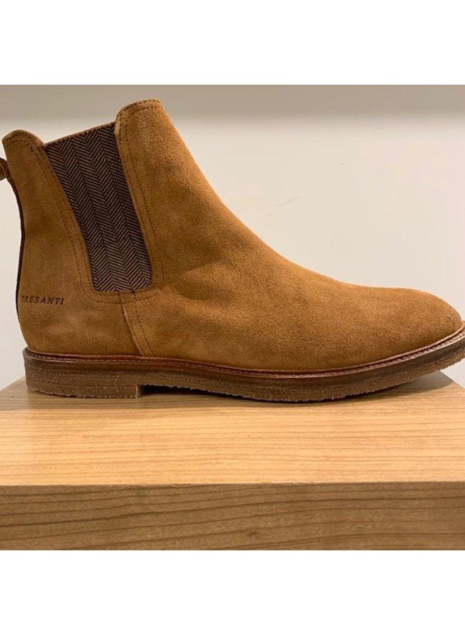 Tresanti Chelsea Boots Suède Cognac (spekzool)