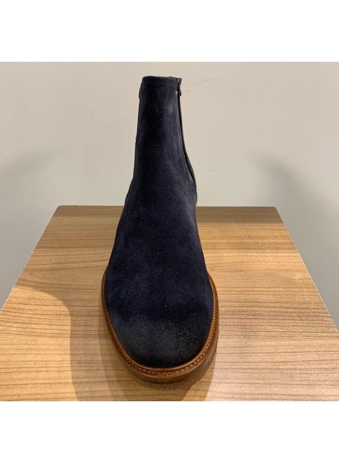 Tresanti Chelsea Boots Suède Navy (Spekzool)