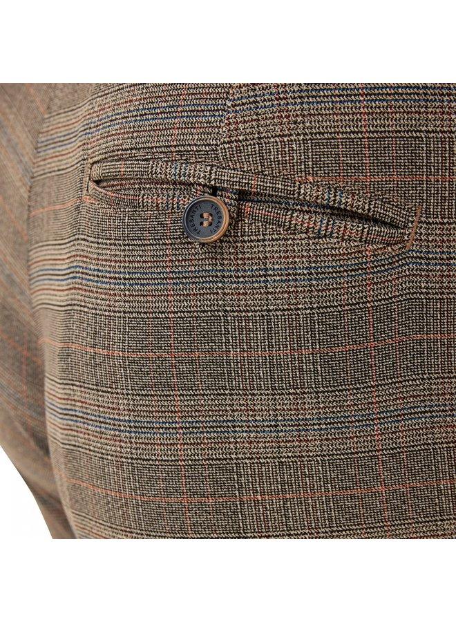 Tresanti Ewan Checkered broek 400 Brown