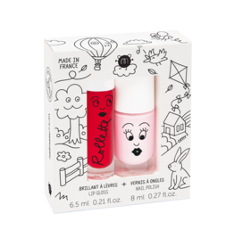 nailmatic Doosje Nagellak + Lip Gloss Kids Cottage