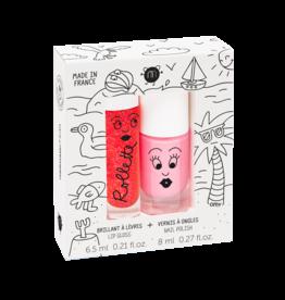 nailmatic Doosje Nagellak-Lip Gloss Kids holidays