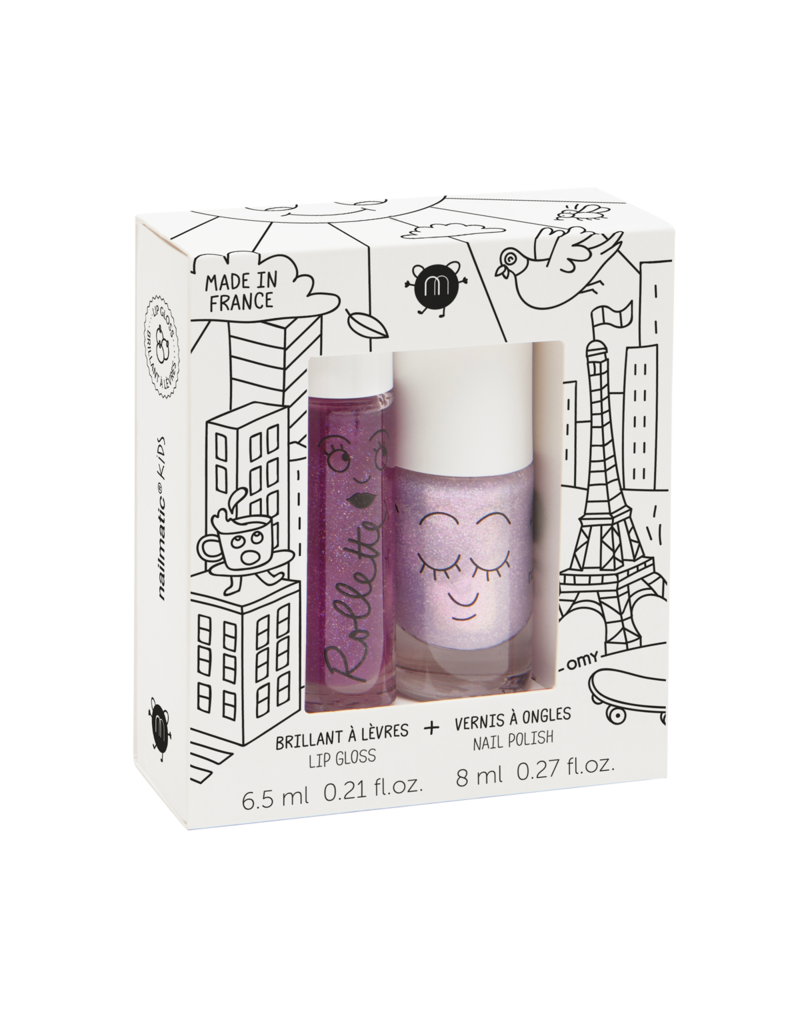 nailmatic Doosje Nagellak-Lip Gloss Kids Lovely City