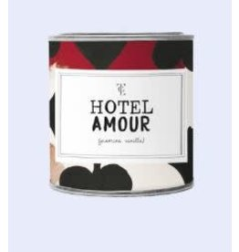The Gift Label Kaars tin klein - hotel amour