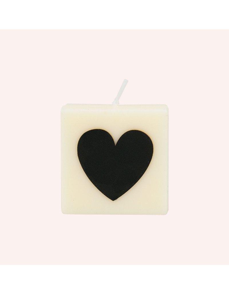 The Gift Label Letter kaarsen - hartje