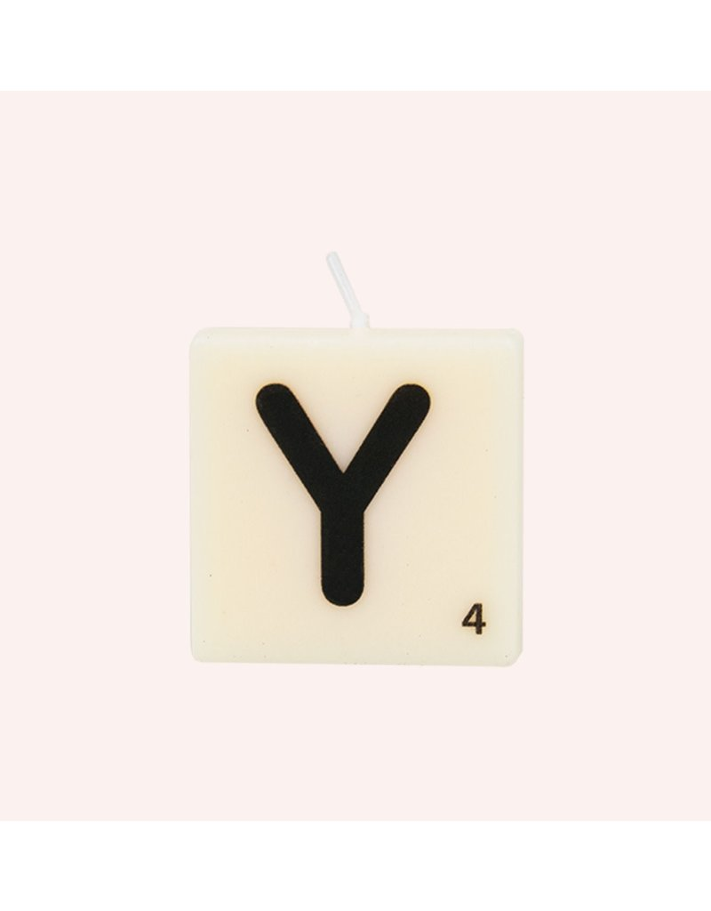 The Gift Label Letter kaarsen - Y