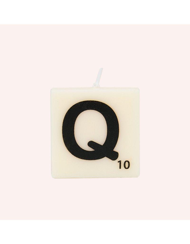 The Gift Label Letter kaarsen - Q