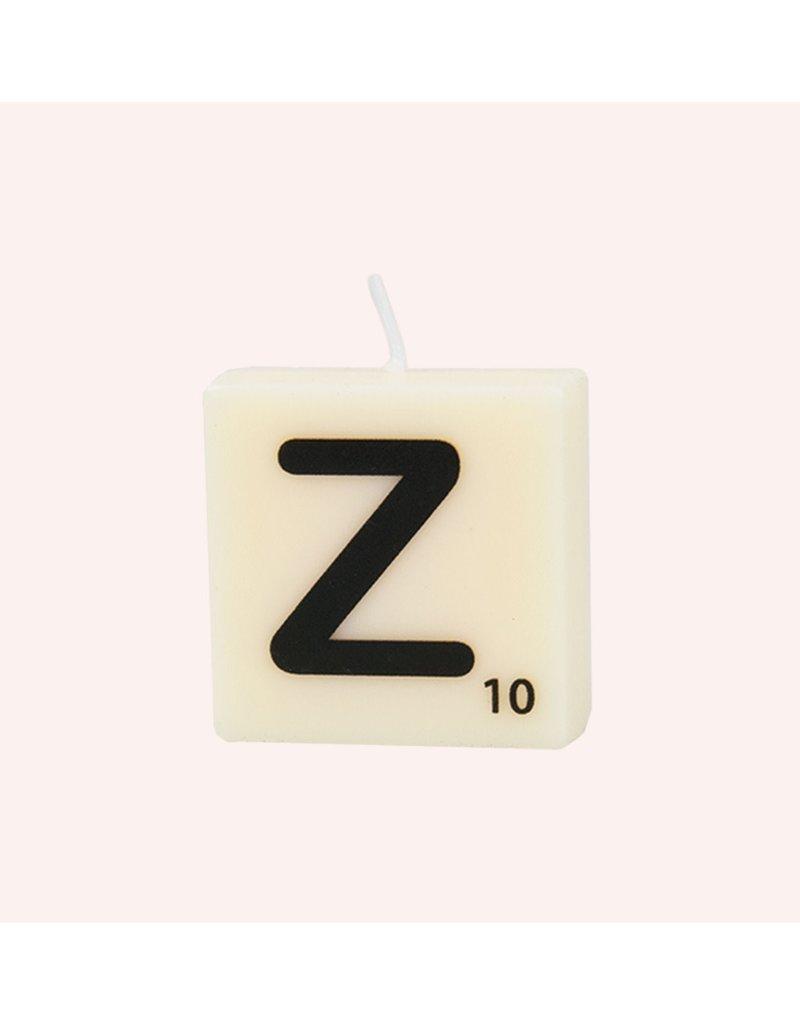 The Gift Label Letter kaarsen - Z