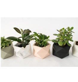 HOUSE RACCOON Palua Plantenpot – Large – Zwart