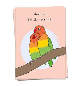 KaartBlanche Kaartje – Lovebirds