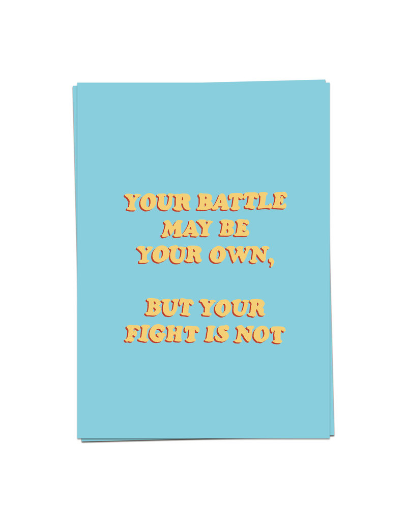 KaartBlanche Kaartje – Your battle