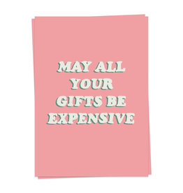 KaartBlanche Kaartje – Expensive gifts