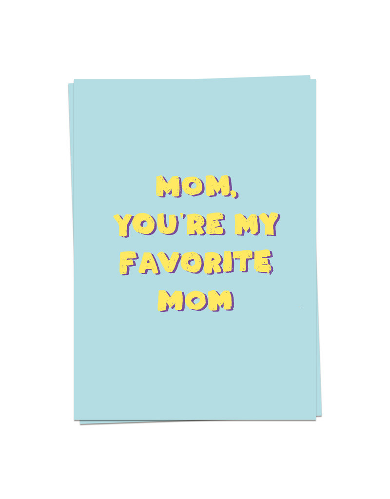 KaartBlanche Kaartje – Fave Mom