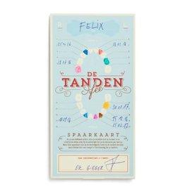 Stratier Tandenfee spaarkaart