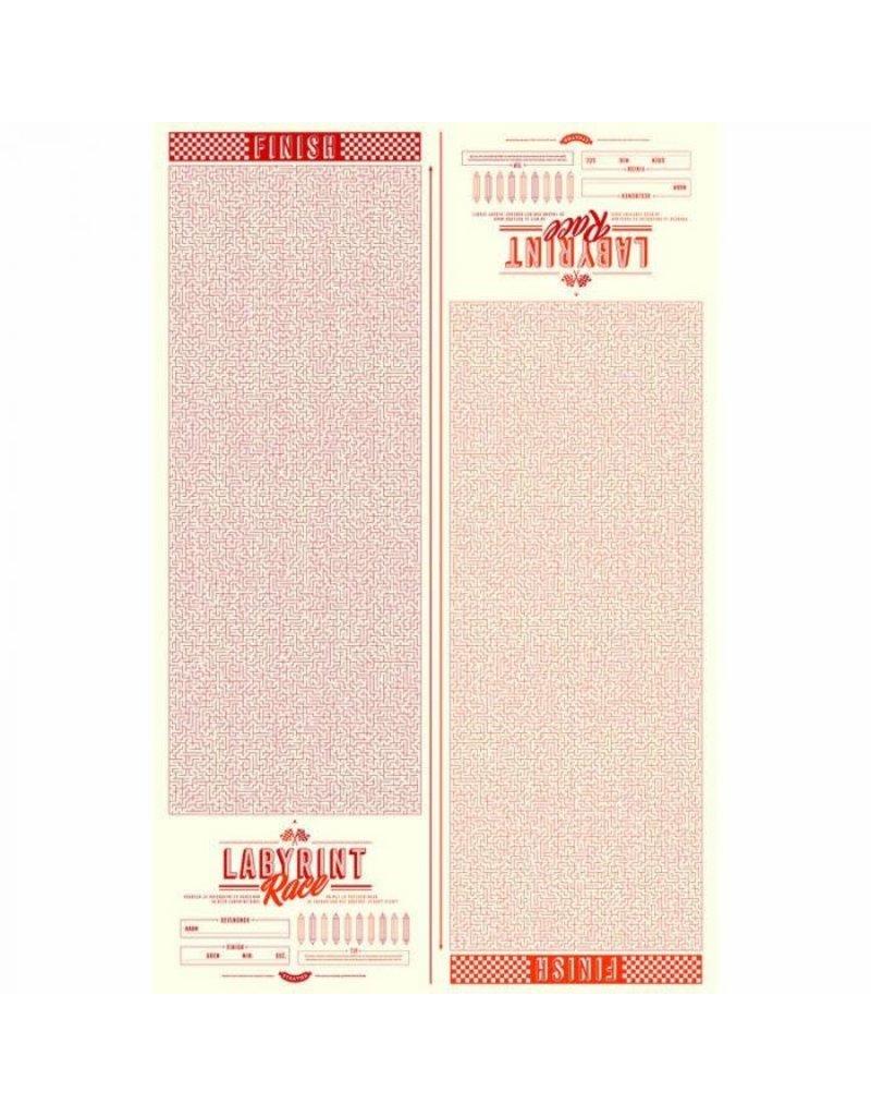 Stratier XL-poster 'Labyrint'