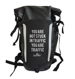 THE VANDAL Waterproof Rugzak Zwart - You are not stuck in traffic