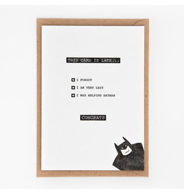 STUDIOFLASH Kaart 'batman'