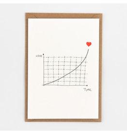 STUDIOFLASH Kaart 'Exponantial Love'