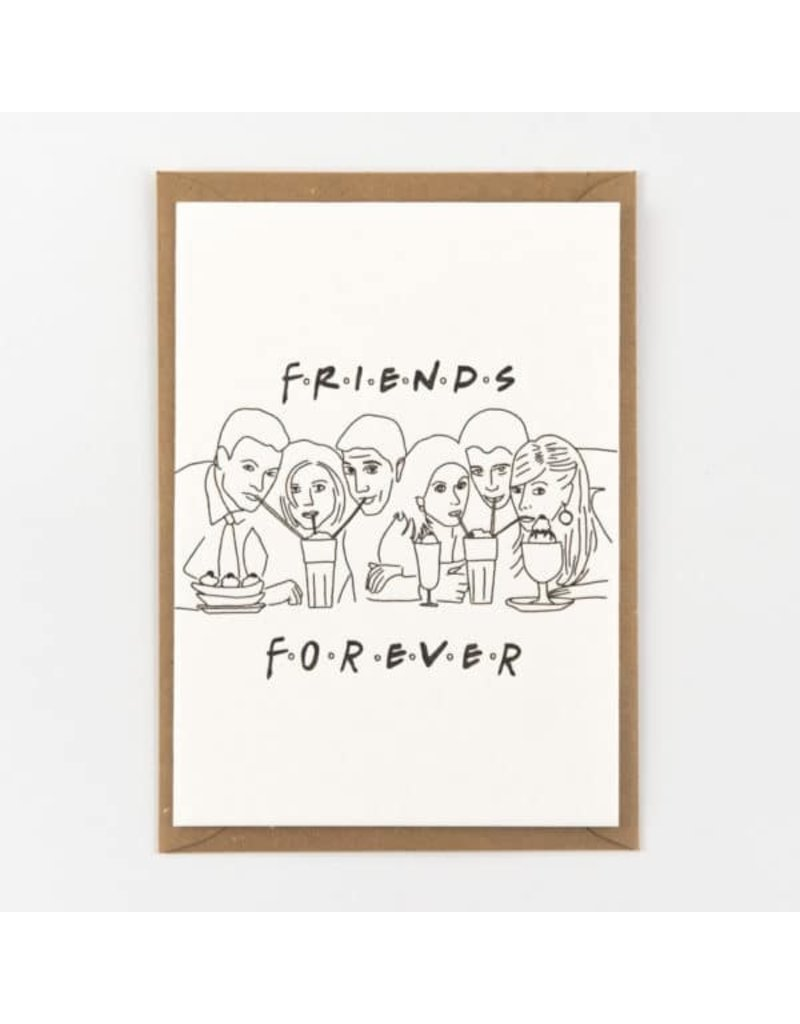STUDIOFLASH Kaart 'friends forever'
