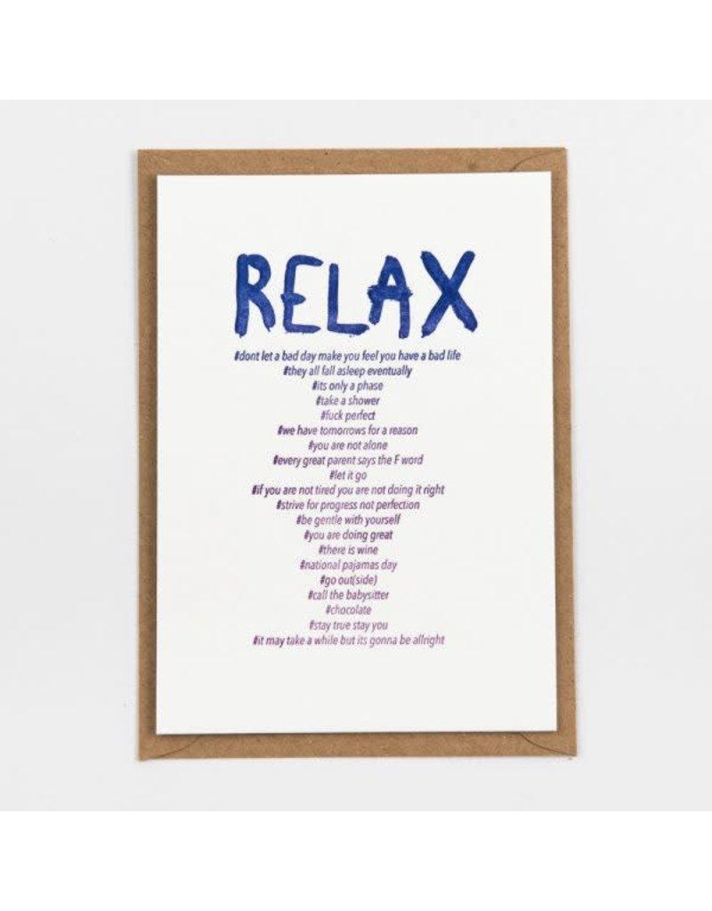 STUDIOFLASH Kaart 'Relax'