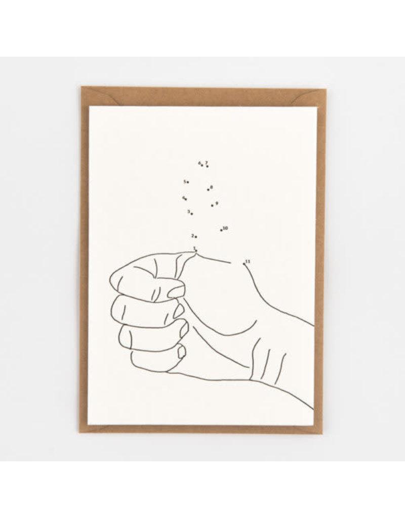 STUDIOFLASH Kaart 'Thumbs Up'
